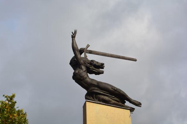 Syrenka, protector of Warsaw